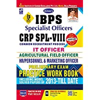 Kiran's IBPS Specialist Officers CRP SPL VIII Preliminary Exam Practice Work Book - 2355