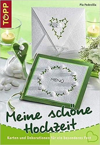 Meine Schone Hochzeit Karten Und Tischdekorationen Fur Ein