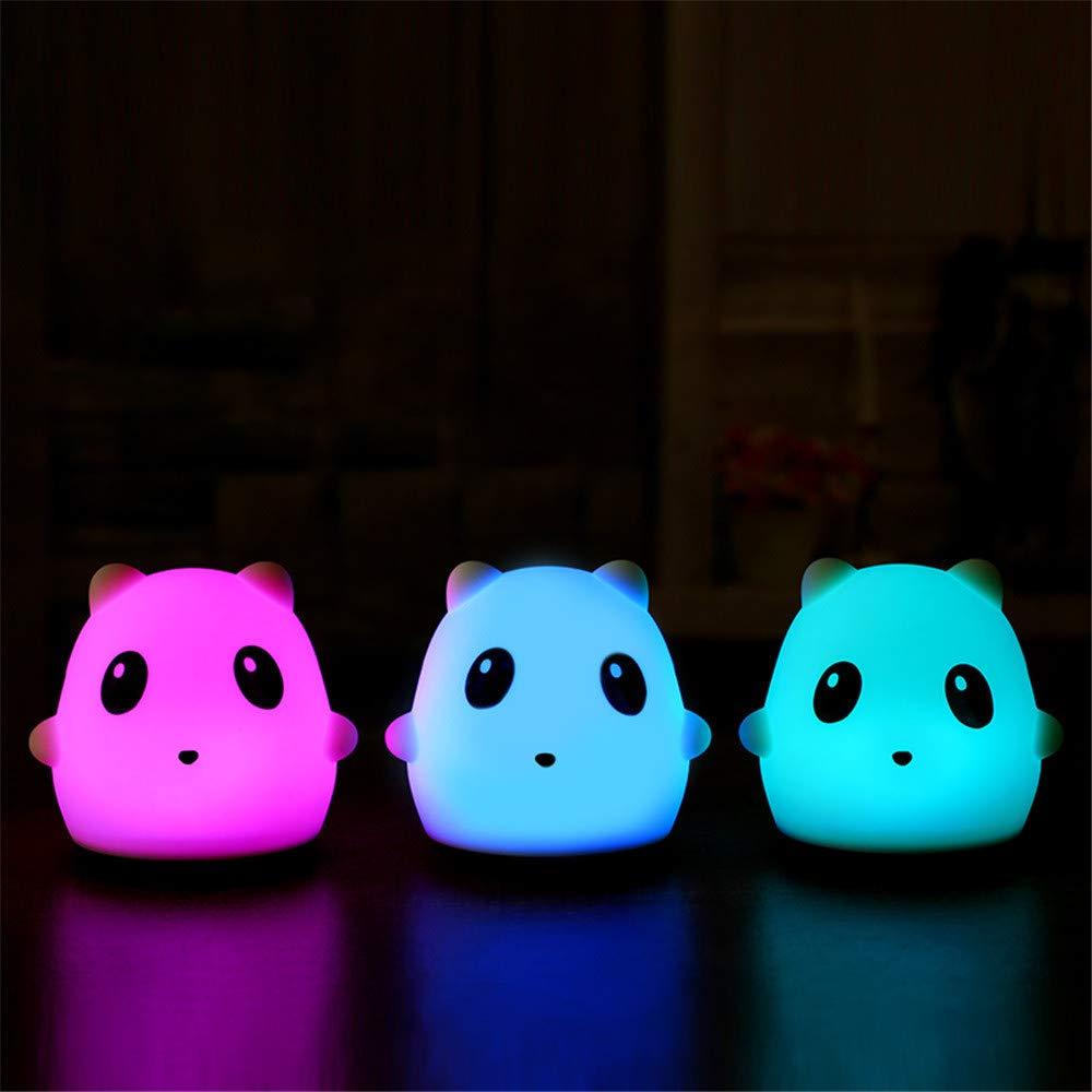 USB Charging LED Panda Sleep Help Light House Party Decor