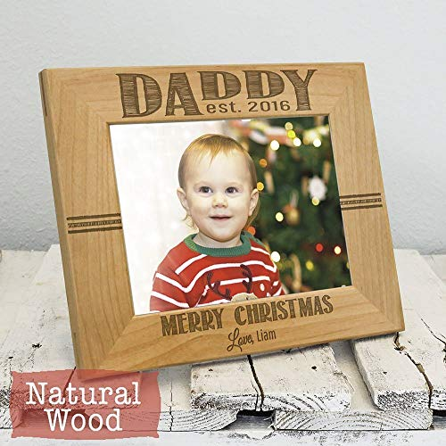 Christmas Gifts for Dad - Personalized Gift for Dad - Dad Gifts - Personalized Picture Frame - Daddy Christmas Gift - Christmas for Dad