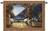 Design Toscano Seaside Fountain Landscape Wall Tapestry: Large