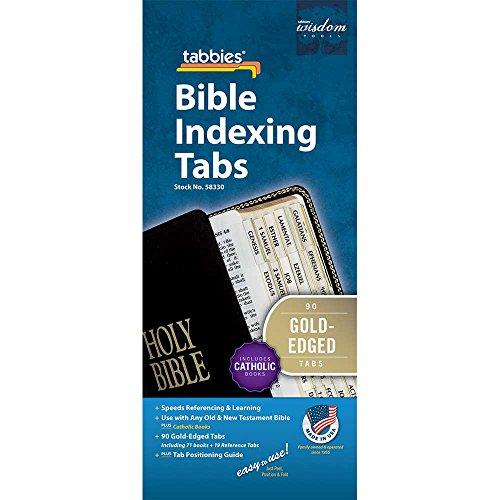 - Tabbies Catholic Gold-Edged Bible Indexing Tabs, Old & New Testament Plus Catholic Books, 90 Tabs Including 71 Books & 19 Reference Tabs (58330)