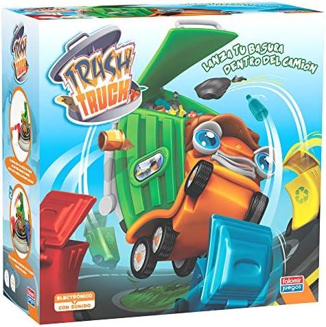 Falomir Trash Truck. Juego de Mesa. Habilidad, Multicolor (1): Amazon.es: Juguetes y juegos