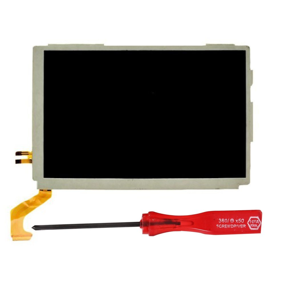 Top LCD for 3DS XL, YTTL Replacement Parts Accessories Upper Screen Display for Nintendo 3DS XL LL System Games Console