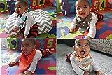 BabyLuv Soft Absorbant Bandana Baby Bibs for