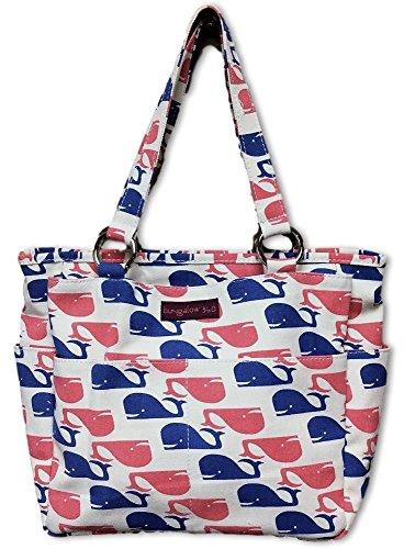 - Bungalow 360 Pocket Bag (Whales)
