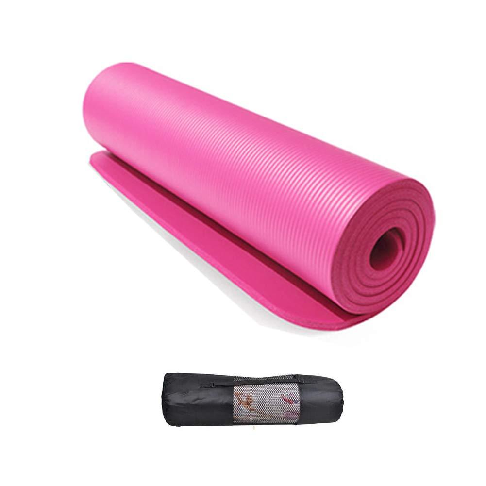 Esterilla Yoga, Colchoneta de Yoga de NBR de Alta Densidad y ...