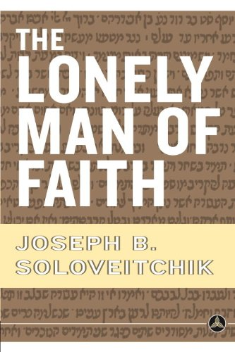 Amazoncom The Lonely Man Of Faith Ebook Joseph B Soloveitchik