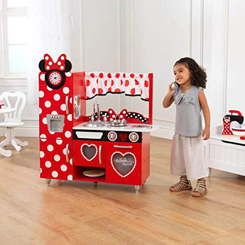 Minnie Mouse Vintage Kitchen Play Kitchen