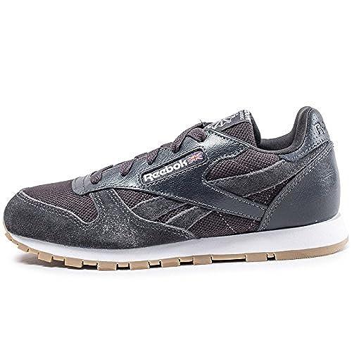 Reebok Cl Leather Estl, Chaussures de Fitness Garçon