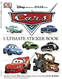 Ultimate Sticker Book: Cars: More Than 60 Reusable Full-Color Stickers