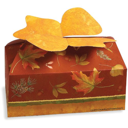 Autumn Cookie (Autumn's Beauty Cardboard Cookie/Candy Boxes 2 per Pack)
