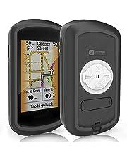 TUSITA Hoesje Compatibel met Garmin Edge Explore GPS - Siliconen Bescherming Hoes Beschermhoes Huid - Touchscreen Touring Fietscomputer Accessoires