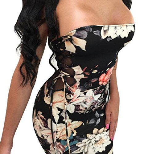 Coolred Sleeveless Wrapped Bodycon Dress As1 Womens Printed Mid 4rqE45