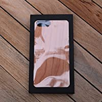 A Jeep Custom Engraved On A Cherry Wood Phone Case with Flexible TPU Sides