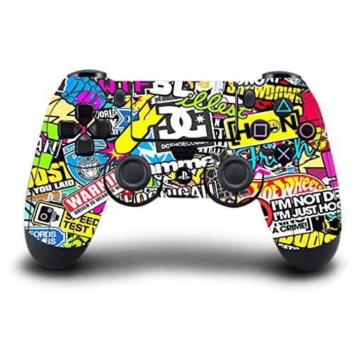 Price comparison product image Game Machine Controller Host Handle Protective Sticker Cover Skin for PS4