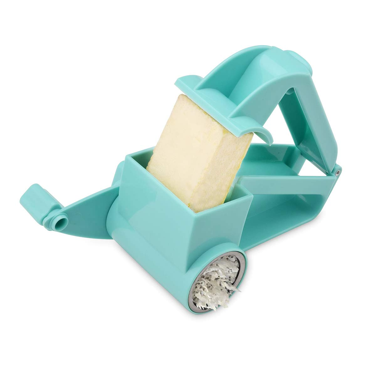 Oumosi grattugia formaggio Rotary Ginger affettatrice grattugia cutter Shredder Blue