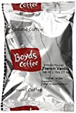 Boyds Coffee French Vanillaa Flavored Ground Medium, Dark Roast Coffee, 2.75-Ounce Portion Packs (Pack of 46)