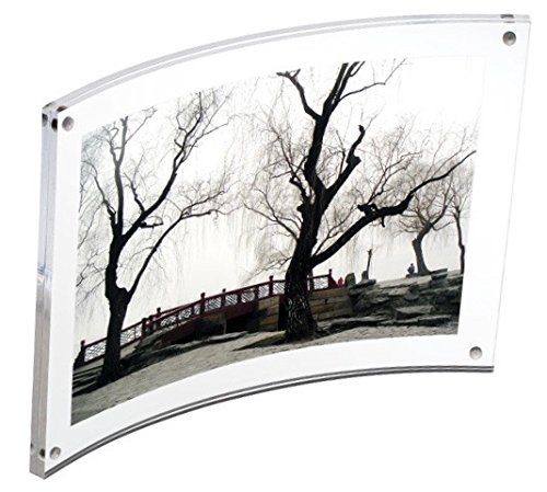 Curved Magnet Frame by Canetti-5x7 inch by Canetti