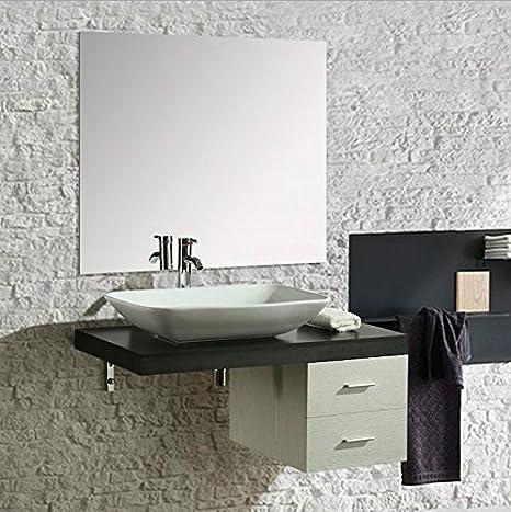 Arredo Bagno Bianco E Nero.Import For Me Mobile Arredo Bagno Picasso 100 Cm Sospeso Di