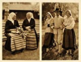 1932 Leksand Darlana Sweden Costume Vika Orsa