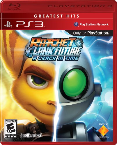 Ratchet & Clank Future: A Crack In Time - Playstation 3 (Ratchet And Clank Quest For Booty Weapons)
