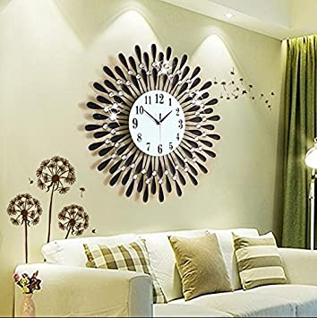 Wanduhr Europischen Wohnzimmer Uhren Personalisierte Kreative Grosse Moderne Europische Quartz Schweigens