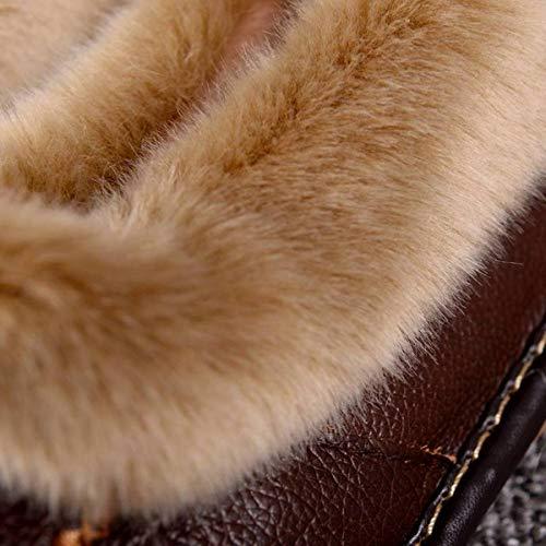 Calde Pelle Casa 41 Confezione 43 Lianaio In Cotone Per Mezze Pantofole 40 Con 42 Invernale Suola Da Adatto Mezza Spessa THqWW70wX