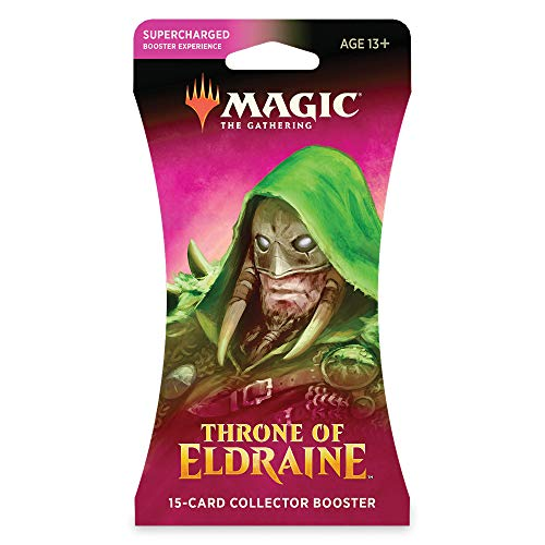 Magic: The Gathering Throne of Eldraine Collector Booster | 16 Card Booster Pack | Special Collector Cards from Magic The Gathering