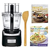 Cuisinart Elite 14-Cup Food Processor + 2 Cookbooks and Stir Fry Spatula
