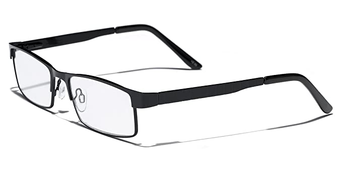 Amazon.com: Metal Wire Rim Rectangle Frame Reading Glasses Various ...