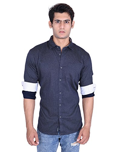 Roller Fashions Men's Printed Cotton Casual Shirt