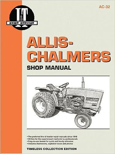 Allis-Chalmers Models 5020 5030 (I & T Shop Service Manuals