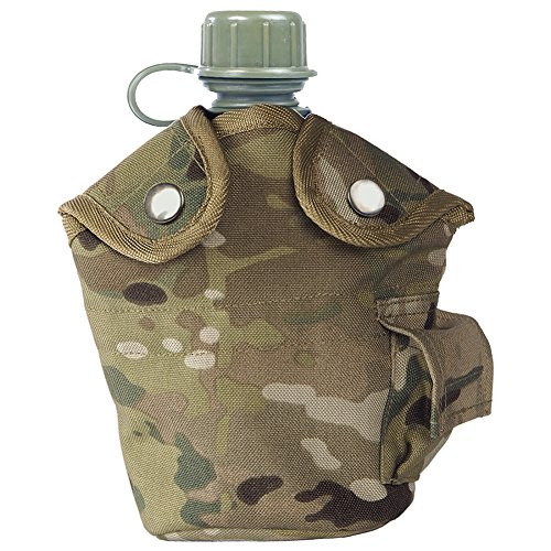 Mil-Tec US Style Canteen and Cup Multitarn by Miltec