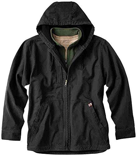 DRI DUCK - Laredo Canvas Jacket with Thermal Lining - 5090-Black-M