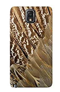 Awesome Design Feathers Hard Case Cover For Galaxy Note 3(gift For Lovers)