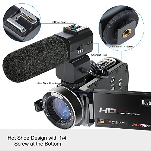 The 8 best video camera with microphone