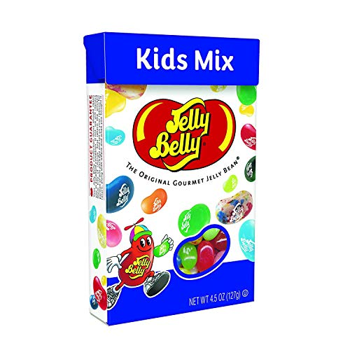 Mix Assorted Jelly Beans - Jelly Belly Kids Mix Jelly Beans, 20 Kid-Friendly Flavors, 4.5-oz Flip Top Box, 12 Pack