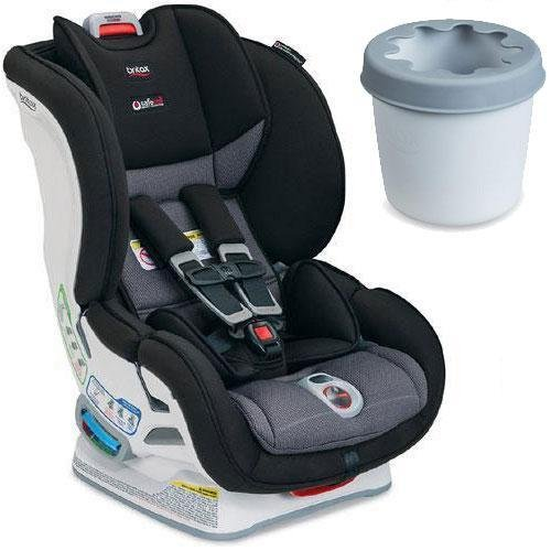 Britax - Marathon ClickTight Convertible Car Seat with Cup Holder - Verve