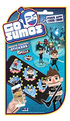 amazon com go sumos remote control stickers smile inc toys games