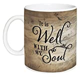 It Is Well With My Soul Sheet Music Design 15 Ounce Ceramic Coffee Mug