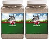Kaytee Chinchilla Dust, 2 Pack of 2.5 Lbs