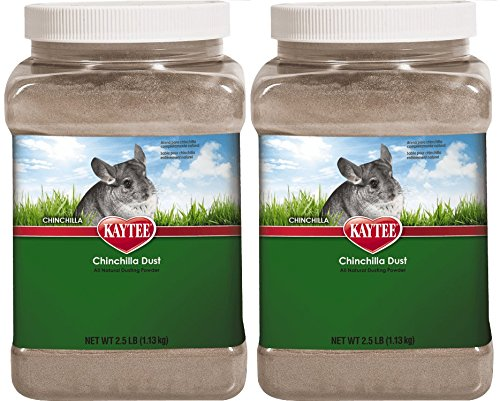 Kaytee Chinchilla Dust, 2 Pack of 2.5 Lbs by Kaytee