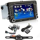 navihouse Tamaño de 2din estéreo del coche DVD GPS NAV Radio para Volkswagen Passat T5Golf MK5Jetta + cámara