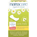 Natracare Natural Panty Liners Curved 30 Ct (2 Pack)