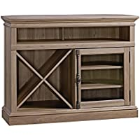 Sauder Barrister Lane Corner Entertainment Stand In Salt Oak