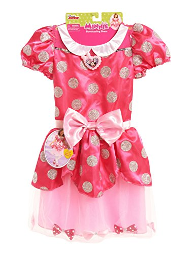 [Just Play Minnie Bow Tique Fancy Bows Dress] (N Fancy Dress Costumes)