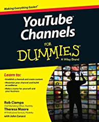 Create content and build a YouTube channel like a pro Written by a successful YouTube channel producer, YouTube Channels For Dummies shows you how to create content, establish a channel, build an audience, and successfully monetize video cont...