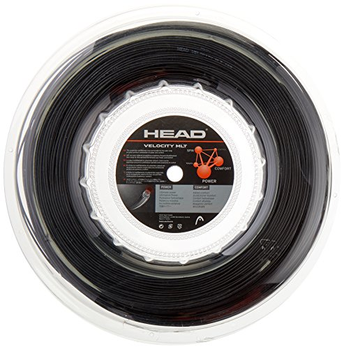 HEAD Velocity Tennis String Reel, 17g, Black ()