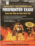 Firefighter Exam, LearningExpress, LLC, 1576859231